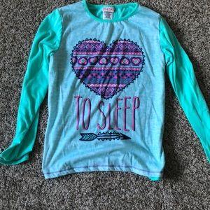 Other - A long sleeve pajama shirt